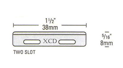 Two slot injector blade specification